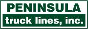 Peninsula Truck Lines logo